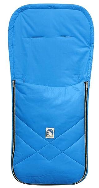 Heitmann Allwetterfußsack für Kinderwagen Buggy blau