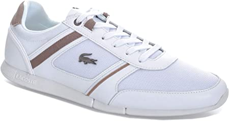 Lacoste Menerva 218 1 JD CAM - Zapatillas deportivas para hombre, color blanco