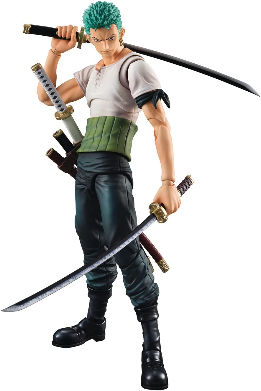Anime One Piece Action Figures Two Years Later Roronoa Zoro War On The Top Gift