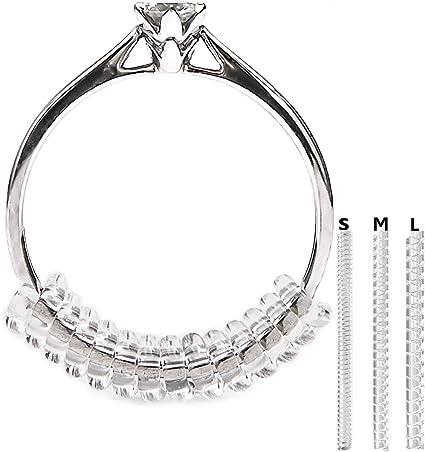 Vancool (18-pack)Anillo reductores Tamaño Ajustador (1.5mm/2mm/3mm), con el paño de pulido del anillo, perfecto para los anillos flojos: Amazon.es: Hogar