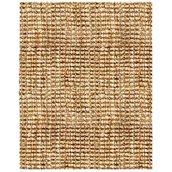 Superior This Item Anji Mountain AMB0300 0912 Andes Jute Area Rug, Natural, 9 X  12 Feet