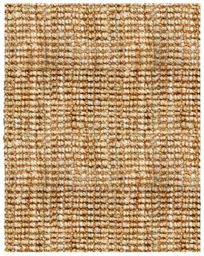 Anji Mountain AMB0300-0810 Andes Jute Area Rug, Natural, 8 x 10-Feet (Mountain Grass Rugs)