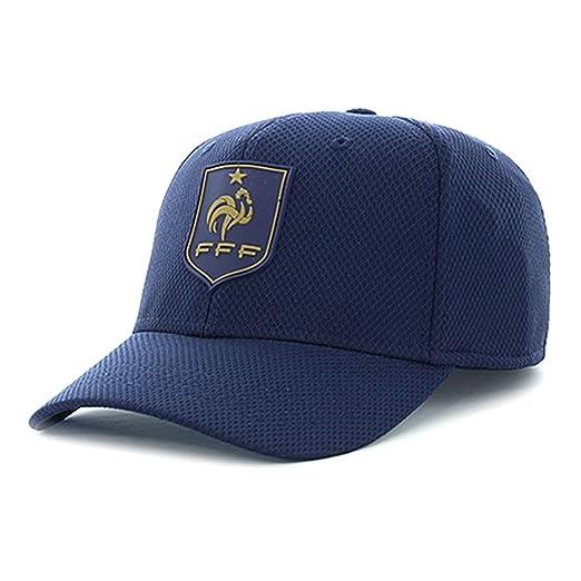 961b8438ba6 FFF - Official French Soccer Team Men s Cap - Blue at Amazon Men s ...