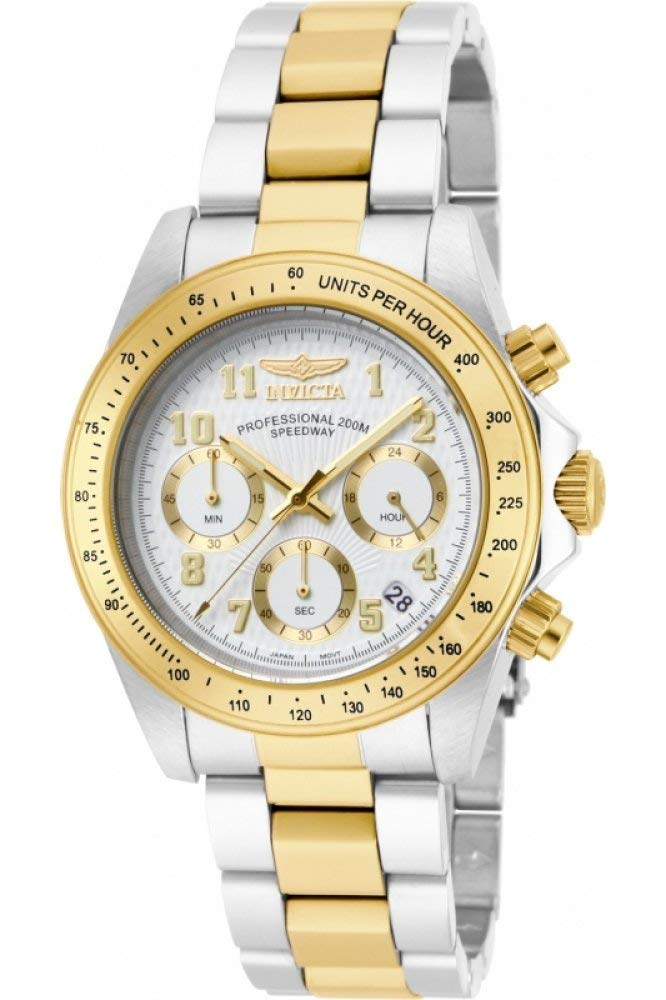 Invicta Men 17026 Speedway Analog Display Japanese Quartz Two Tone Watch
