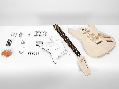 Set 2 x Juego de piezas de guitarra eléctrica GYVER TWO, color natural - 2