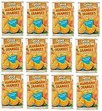 Great Value Mandarin Oranges In Water, No Sugar Added, 15 Oz, Pack of 12