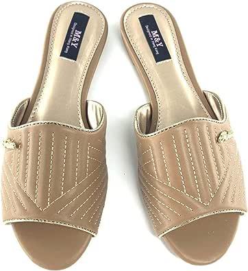 M&Y ladies flat slippers