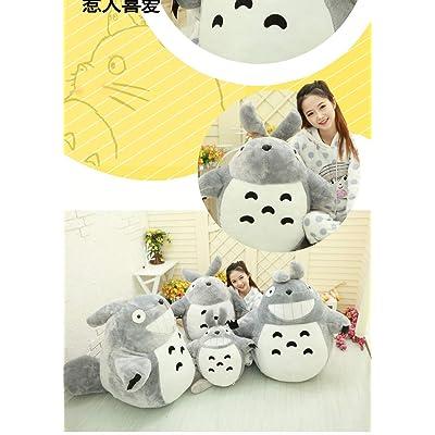 MIAOOWA Official Store Totoro Juguetes De Felpa Suave Relleno Animal Dibujos Animados Cojín Lindo Gato Chinchillas Niños Cumpleaños 100cm Clásico: Juguetes y juegos