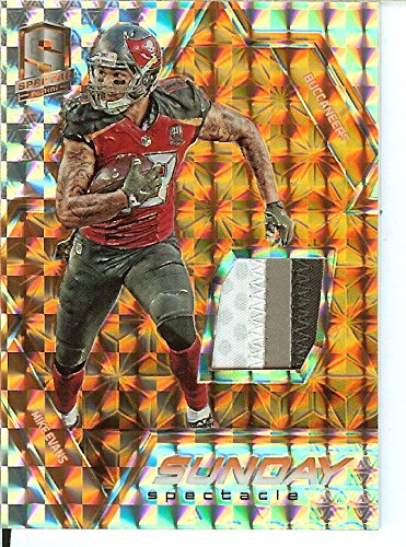 Football NFL 2016 Spectra Sunday Spectacle Neon Orange #29 Mike Evans /3 Buccaneers by Spectra