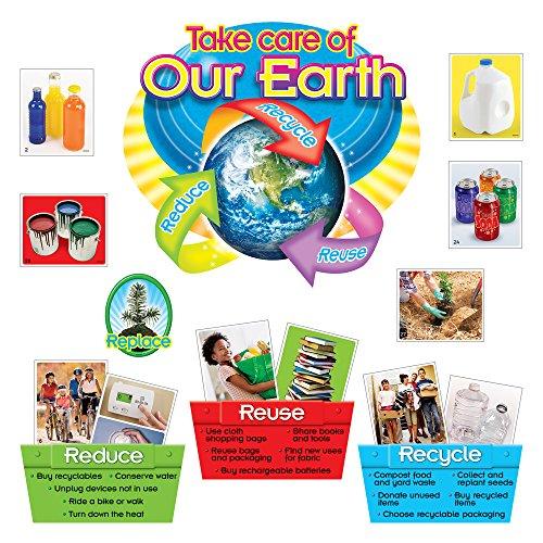 Trend Enterprises Reduce, Reuse, Recycle Bulletin Board Set (T-8262)