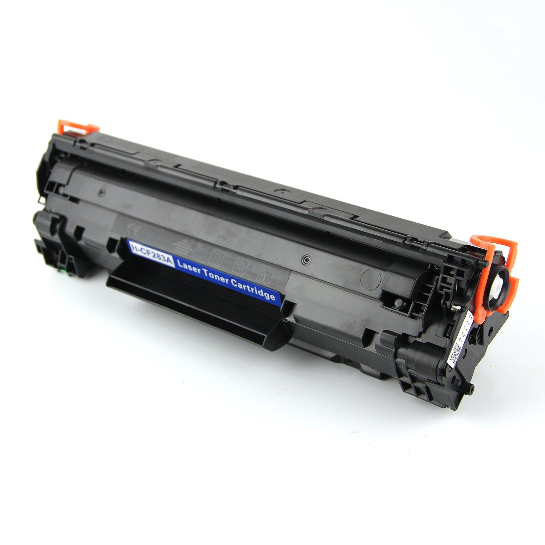 2 negro Compatible Impresora cartuchos de t/óner para impresora HP CF283A para HP LaserJet Pro M125a M125nw M127fn M127fw MFP PerfectPrint
