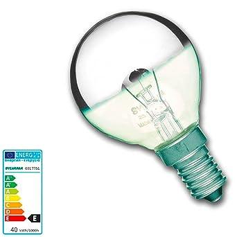 Ampoule calotte argentée E14 40W: Amazon.fr: Luminaires et Eclairage
