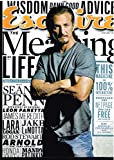 Esquire Magazine January 2013 The Meaning of Life Issue Sean Penn Cover Jake Lamotta, James Meredith, Leon Panetta, Rod Stewart, Ronda Rousey, Petra Nemcova, and More
