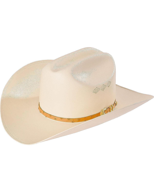 Larry Mahan Mens 50X Jerarca Ivory Woven Cowboy Hat