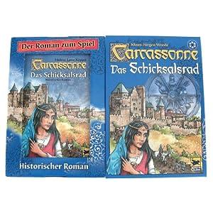 """Carcassonne """"Schicksalsrad"""" für nur 10,87 € inkl. Roman zum Spiel"""