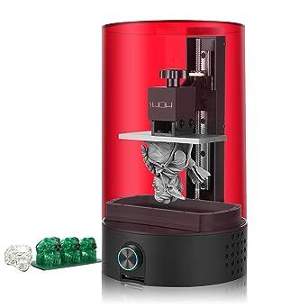 Amazon.com: Impresora 3D LCD, Sparkmaker SLA 3D de resina ...