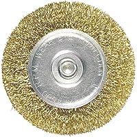 Escova Circular De Aco Carbono, 60 Mm, Haste 6 Mm Mtx