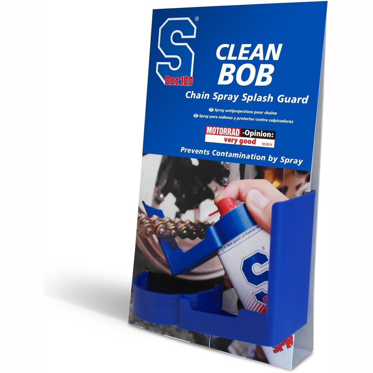 Motorcycle SDoc S100 Motorcycle Chain Spray Guard BOB - Blue SDoc100 Motorcycle Care 4006539080250