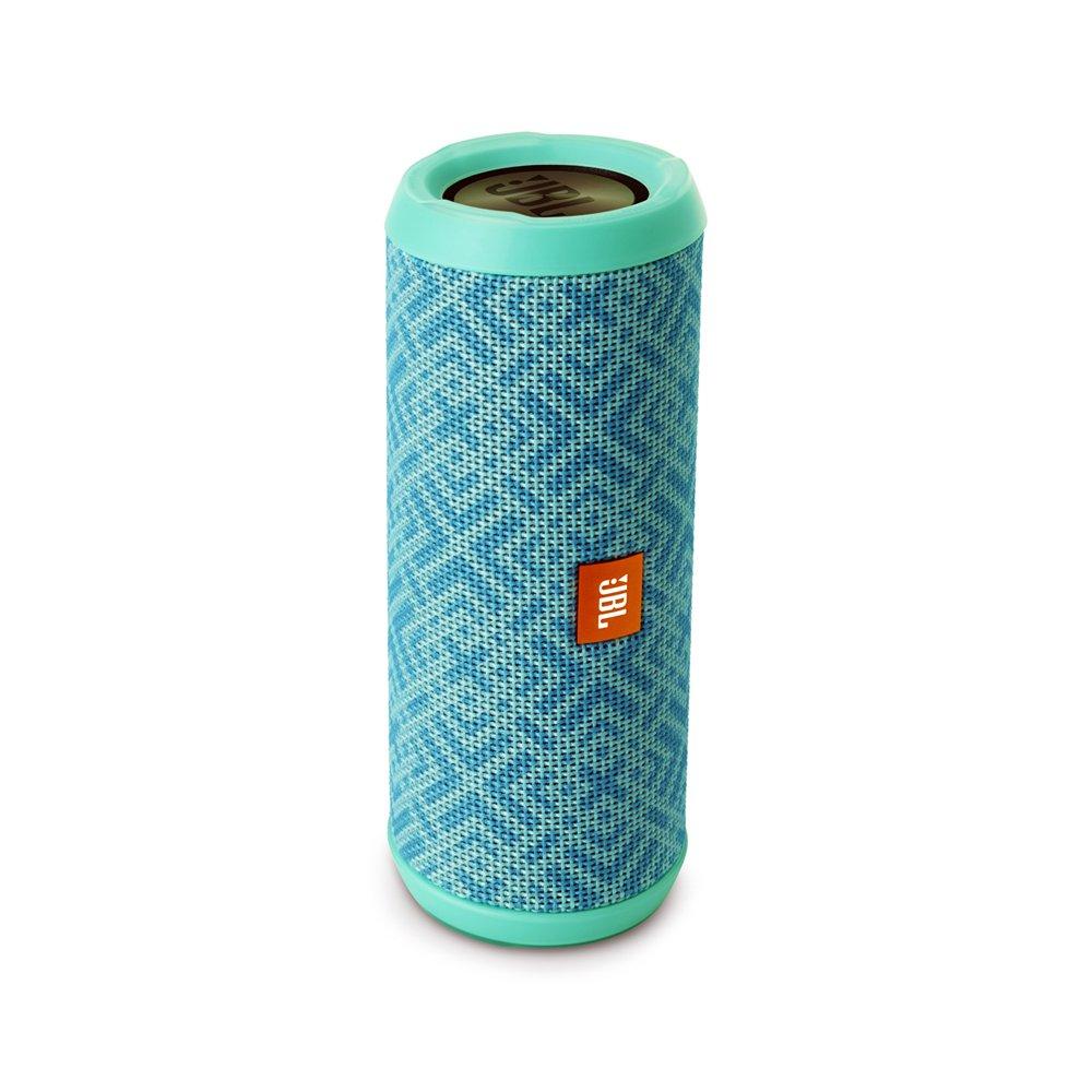 JBL Flip 3 Splashproof Portable Bluetooth Speaker – Mosaic Arctic