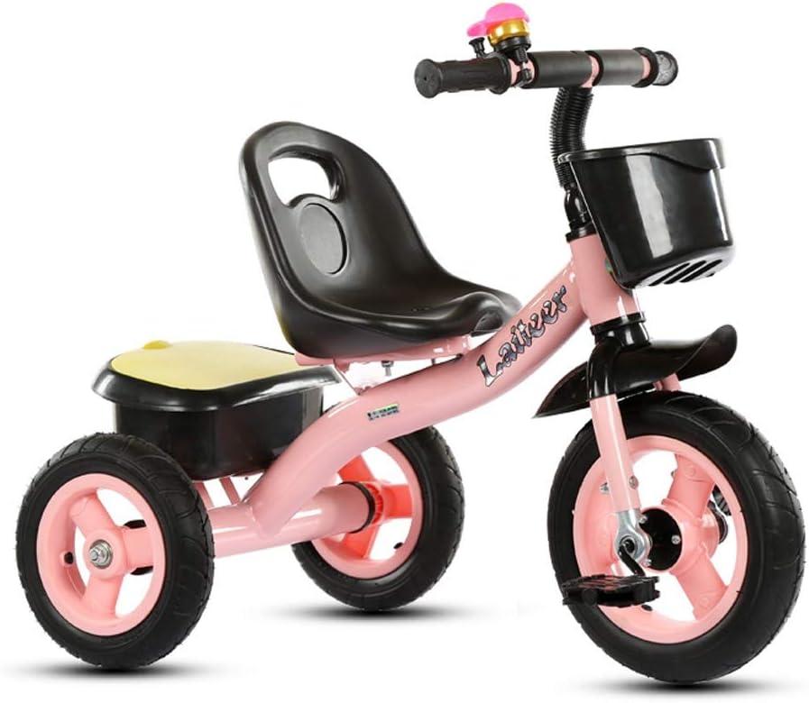 SXWBL Chicas Chicos Bicicleta del Triciclo de niños con Caja de ...