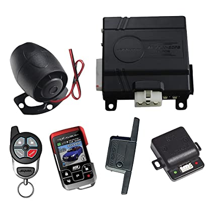 Excalibur Omega 1 Mile Color 2-Way Security & Remote Start Alarm Combo (Replacement remote-15607)