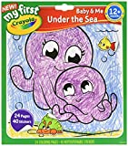 Crayola Under The Sea Color and Sticker Book