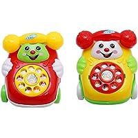 HENGSONG Baby Toys Music Cartoon Phone Educational Developmental Kids Toy Gift