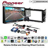 Volunteer Audio Pioneer AVIC-7201NEX Double Din Radio Install Kit with GPS Navigation Apple CarPlay Android Auto Fits 2000-2005 Saturn S/L Series