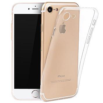 01c589cf12 Amazon | TC JOY iPhone 7 ケース TPU保護カバー HDクリア ソフト 超薄型 ...