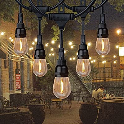 Honeywell 36' Commercial-Grade LED Indoor/Outdoor String Lights