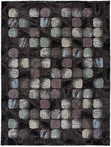 Nourison Modesto Mds01 Charcoal Set Area Rug, 7 11 X 10 7