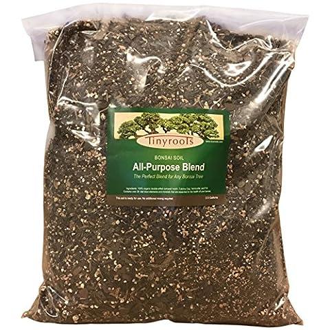 Professional All-Purpose Bonsai Tree Soil Potting Mix Blend, 2.5 Gallon Bulk Wholesale - Pruning Ficus Tree