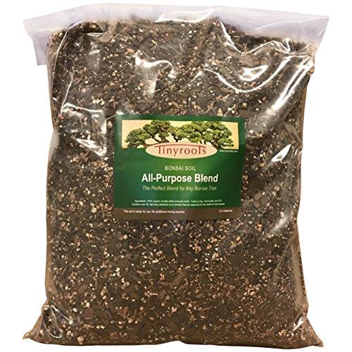 Tree Mix (Professional All-Purpose Bonsai Tree Soil Potting Mix Blend, 2.5 Gallon Bulk Wholesale)