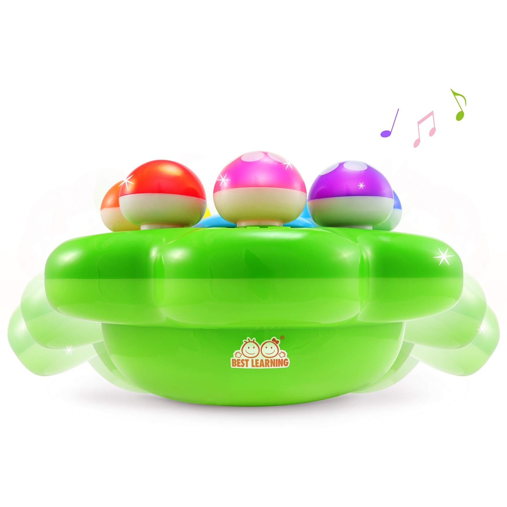 BEST LEARNING Mushroom Garden - Interactive Educational Light-Up Toddler Toys for 1 to 3 Years Old Infants & Toddlers - Colors, Numbers, Games & Music for Kids by BEST LEARNING (Image #6)