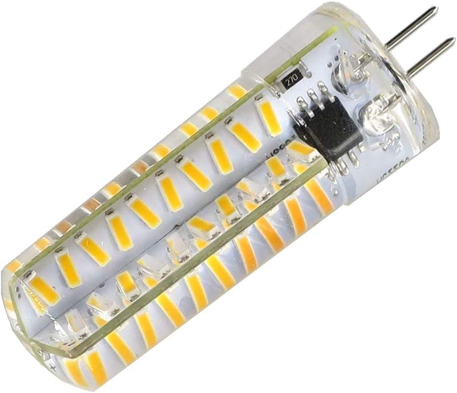 120v 5w G4 Dimmable 4014 LED Light Warm White 3000k 35W~45W Halogen Replacement For Chandelier Crystal Ceiling Lamp Light SmartLive Lot of 2pcs 110v