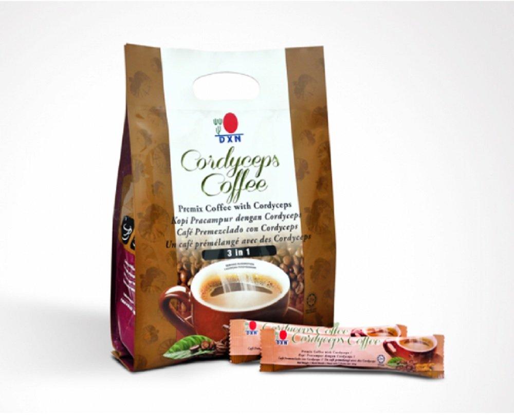 DXN Cordyceps 3 in 1 Coffee (21g x 20 Sachets)