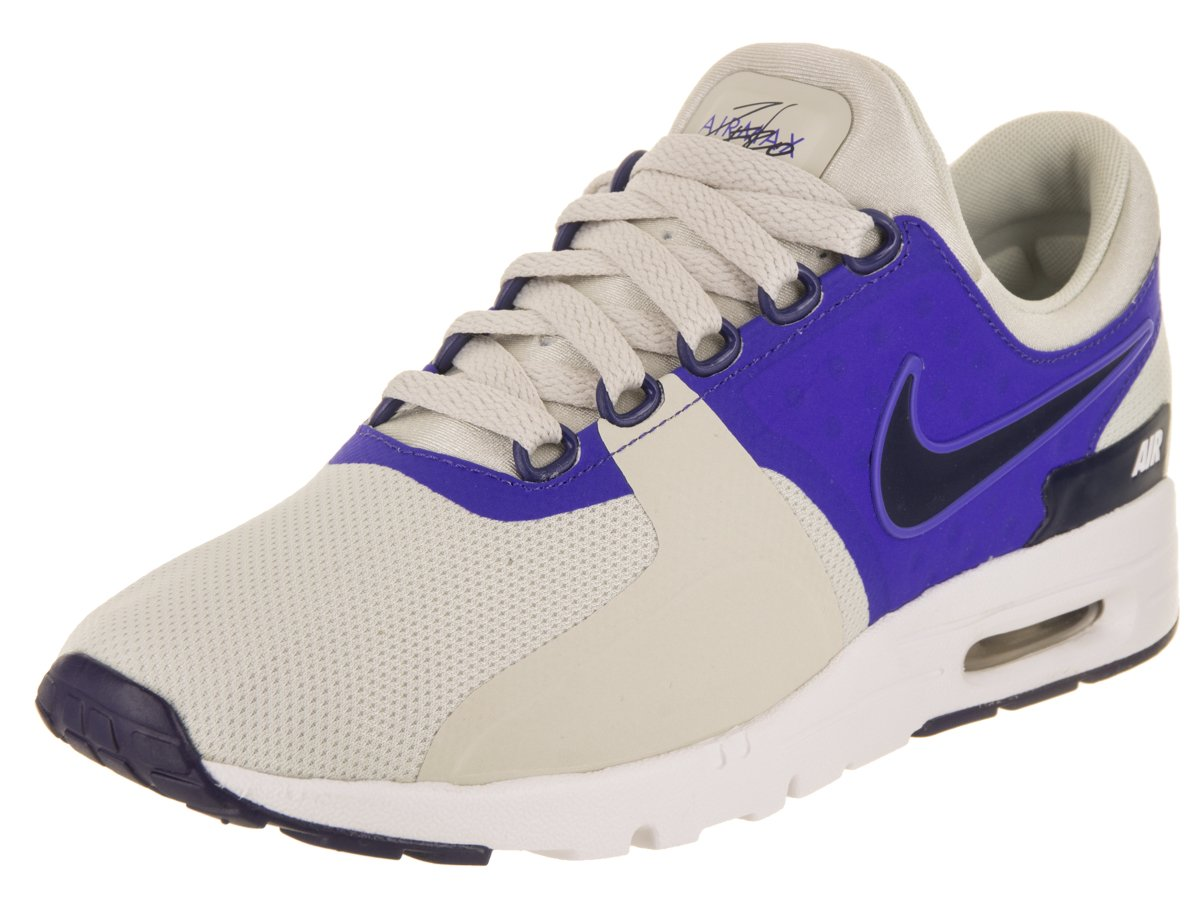 NIKE Women's Air Max Zero Light Bone/Binary Blue Running Shoe 7 Women US