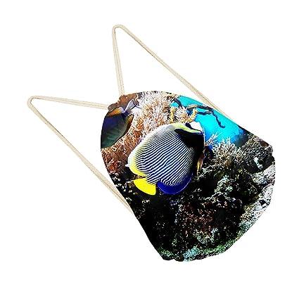IPOTCH Estrella de Mar de Lazo Zapatos de Vestir Divertido Mochilas de Almacenamiento Mochila - Estilo