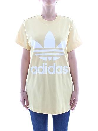 adidas t shirt donna gialla