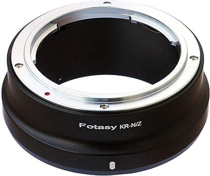 Fotasy Objektivadapter Konica Objektiv Nikon Kamera