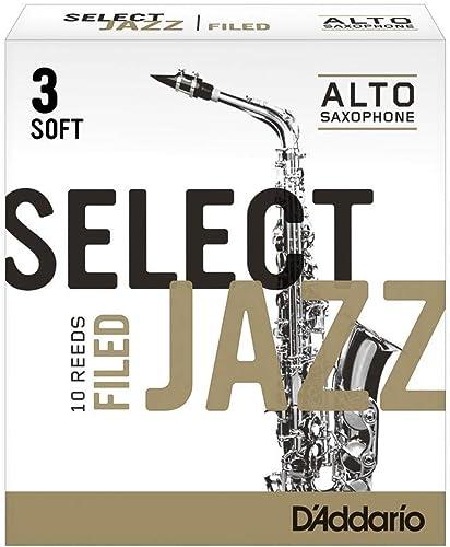 D'Addario Rico Select Jazz Alto Sax Reeds