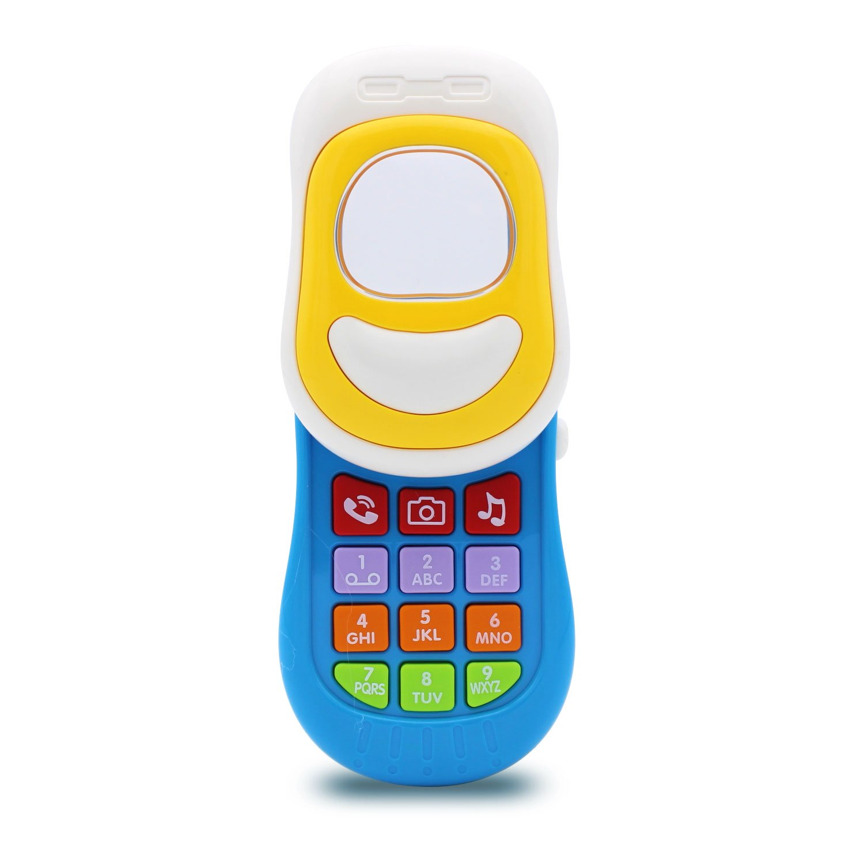 Transformania Toys Kids Fun Music Smartphone Electronic Mobile Phone Baby STEM Developmental Music Toy for Children Boys Girls