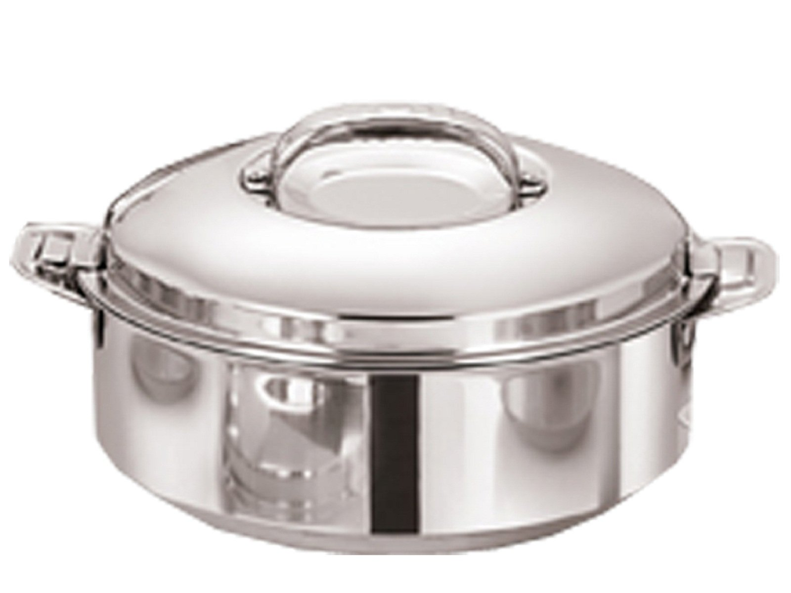 Kuber Industries Casserole/HotPot,chapati Box/chapati Container/hot case in Stainless Steel 5000 ML (Cass61)