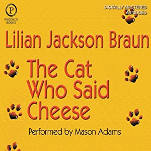 The Cat Who Said Cheese Audiobook