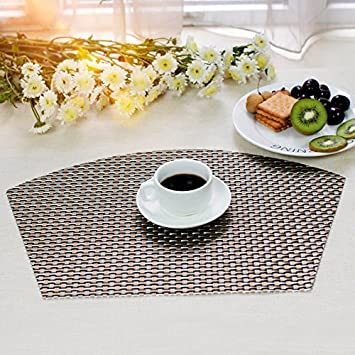 Tischsets Abwaschbar tischsets platz matten küche speisetisch hitzebeständig