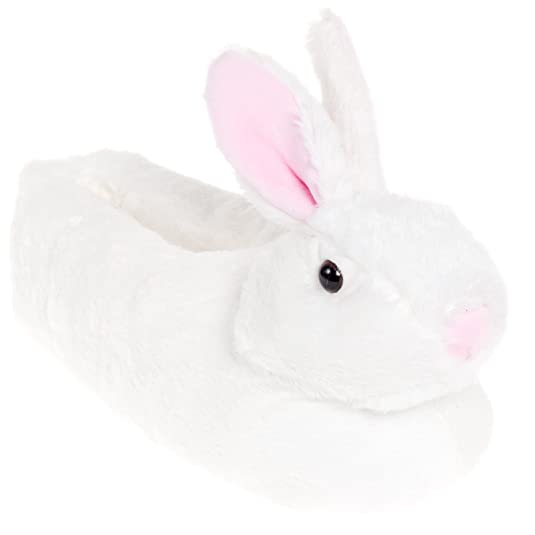 Classic Bunny Slippers - Plush Animal Slippers
