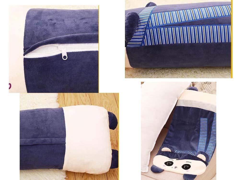 Cute Sleeping Pillow Doll Plush Doll extra/íble lavable larga almohada duradera