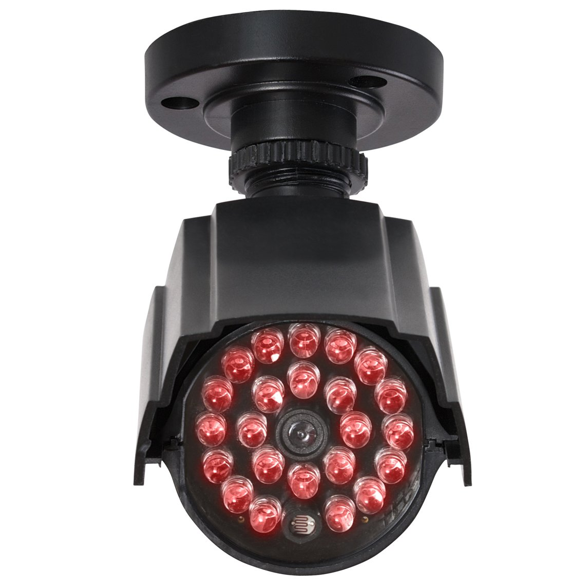 Proper Dummy Dome & Security Camera Kit Negro, Color blanco cámara de seguridad ficticia - Cámaras de seguridad ficticias (Exterior, Negro, Blanco, ...
