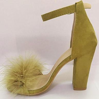 023c61d94451 Amazon.com  Caopixx High Heel Sandals