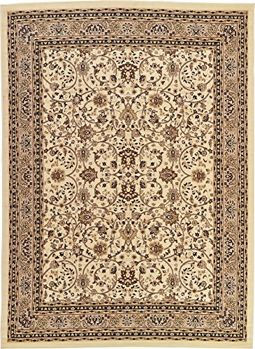 A2Z Rug 10-Feet-by-13-Feet Covent Garden Persian Traditional Design Rug, Ivory